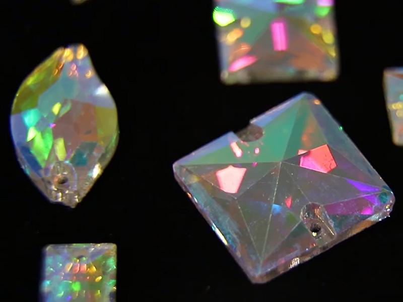 Sew On Rhinestone Loose Flat Back Glass Beads-Jpstrass