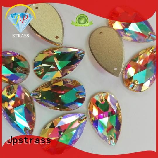 korean glass rhinestones drop quality for party