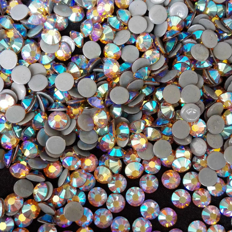 korean lead free hot fix strass factory supplier various sizes and colors available
