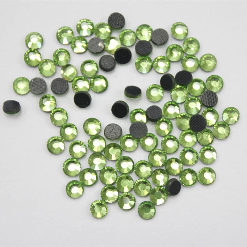 loose flat back 2019 hot fix beads for clothing decoration wholesale supplier