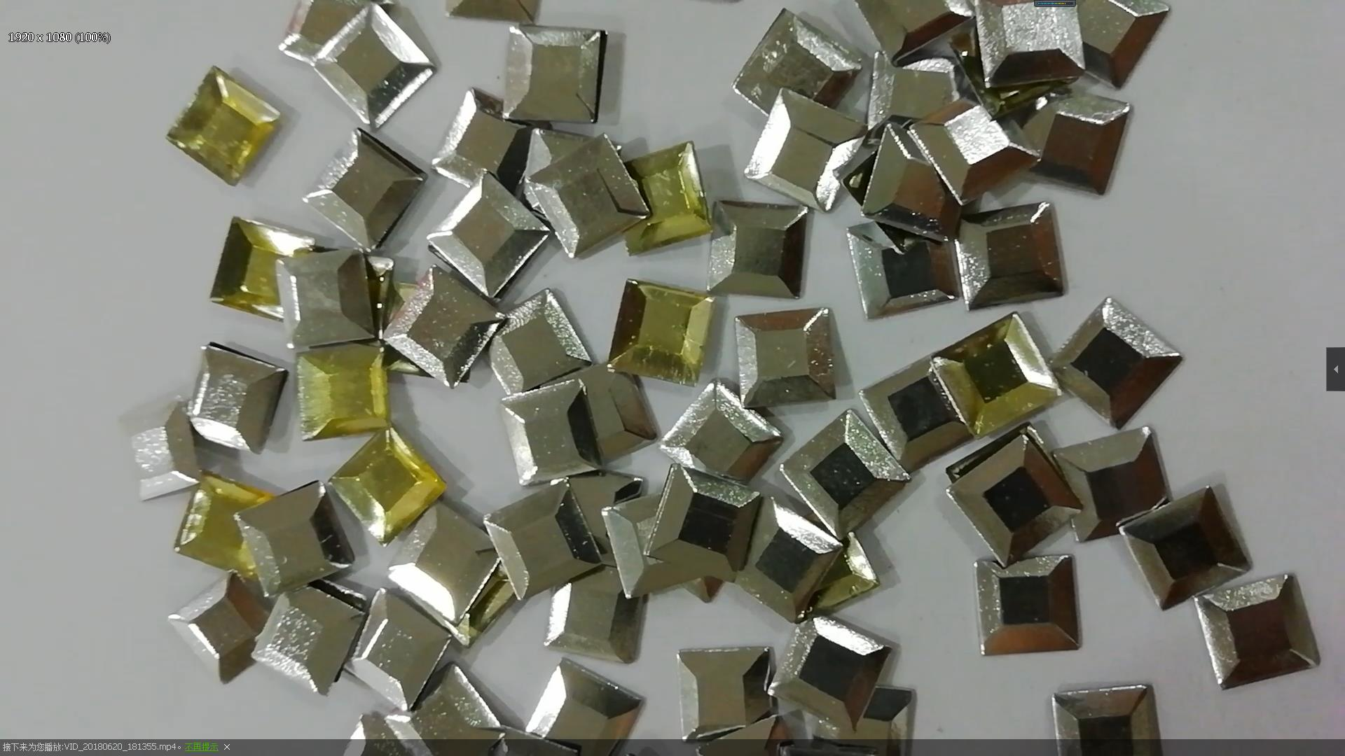 Factory Directly Sale Square Shape Aluminum Studs Variety Sizes Available-Jpstrass