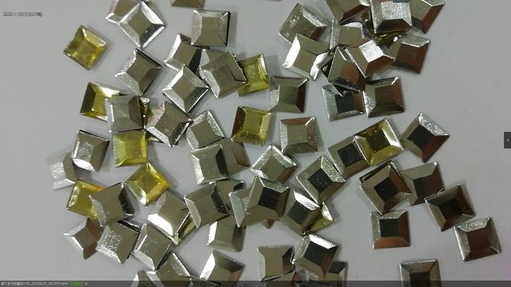 Factory Directly Sale Square Shape Aluminum Studs Variety Sizes Available