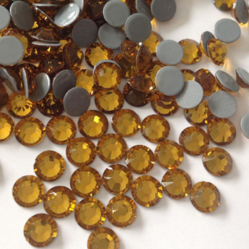 original korean quality hot fix rhinestones high quality 16 facets supplier