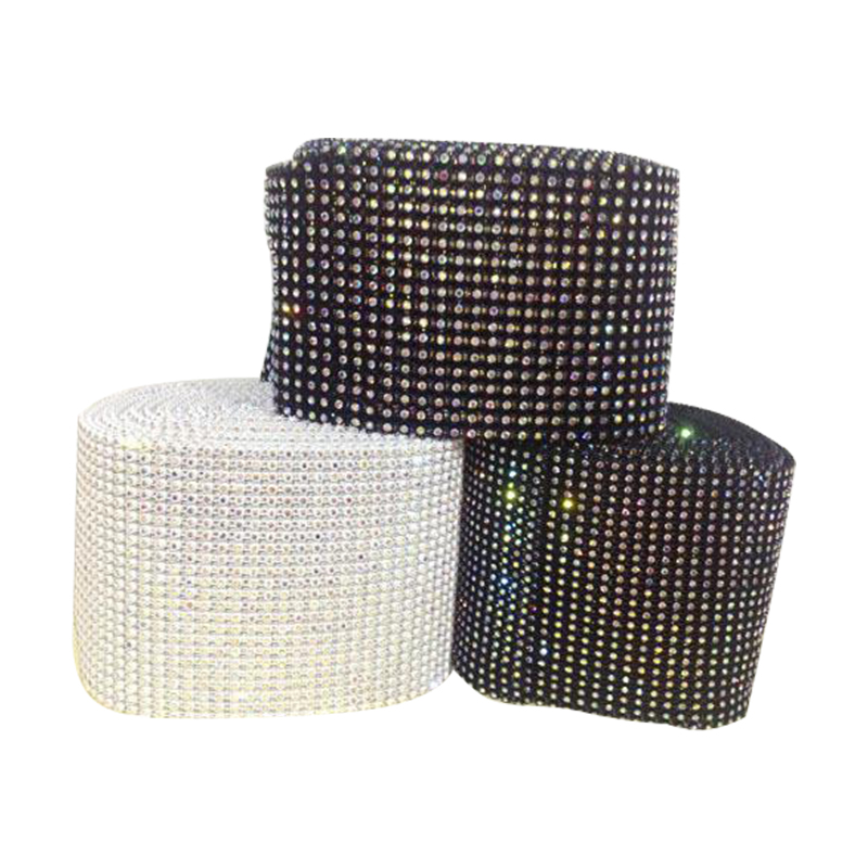 Jpstrass-Manufacturer Of Rhinestone Wrap Factory Directly Sale Elastic Banding Rhinestone