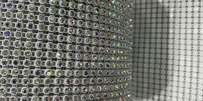 Jpstrass-Professional Rhinestone Mesh Sheet Diamond Mesh Wrap-7