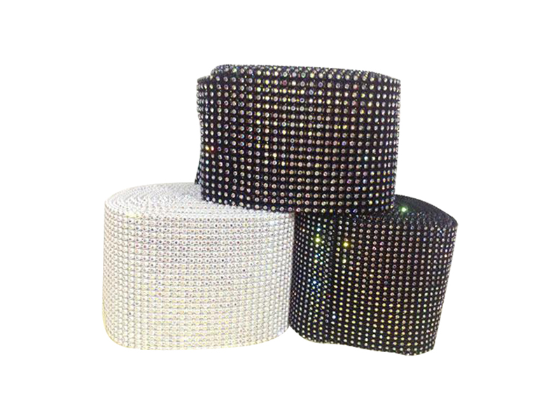 Jpstrass-Professional Rhinestone Mesh Sheet Diamond Mesh Wrap-5