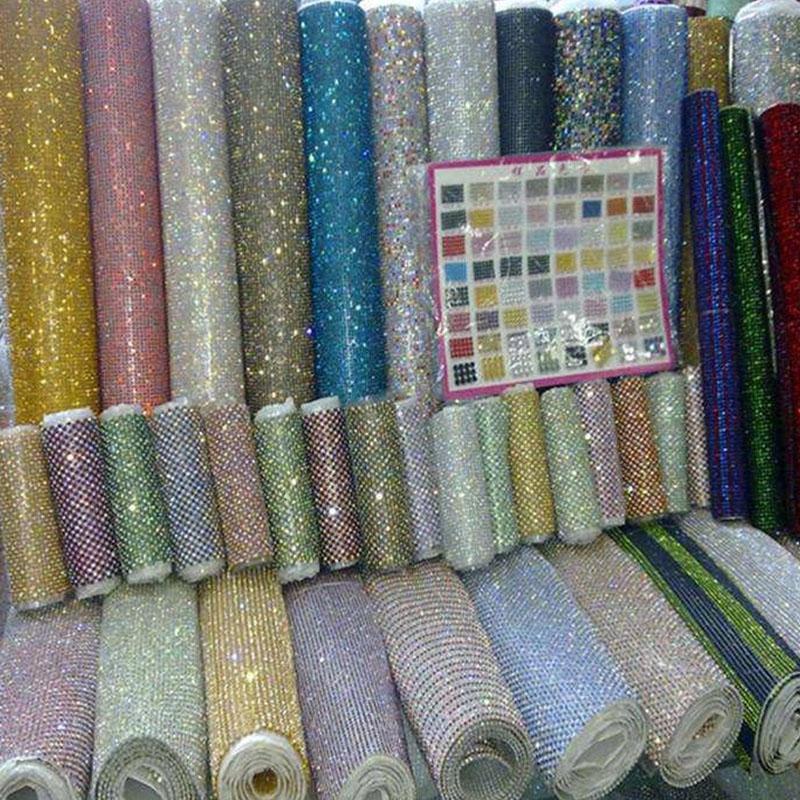 Jpstrass-Hot Fix Diamond Sheets | Jp Strass Plastic Rhinestone Mesh-1