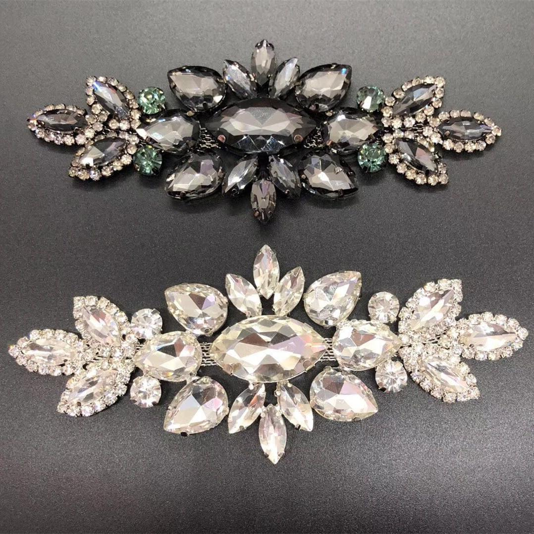 Jpstrass-High-quality Jpstrass Flat Back Sew On Crystal Glass Beads Teardrop-8