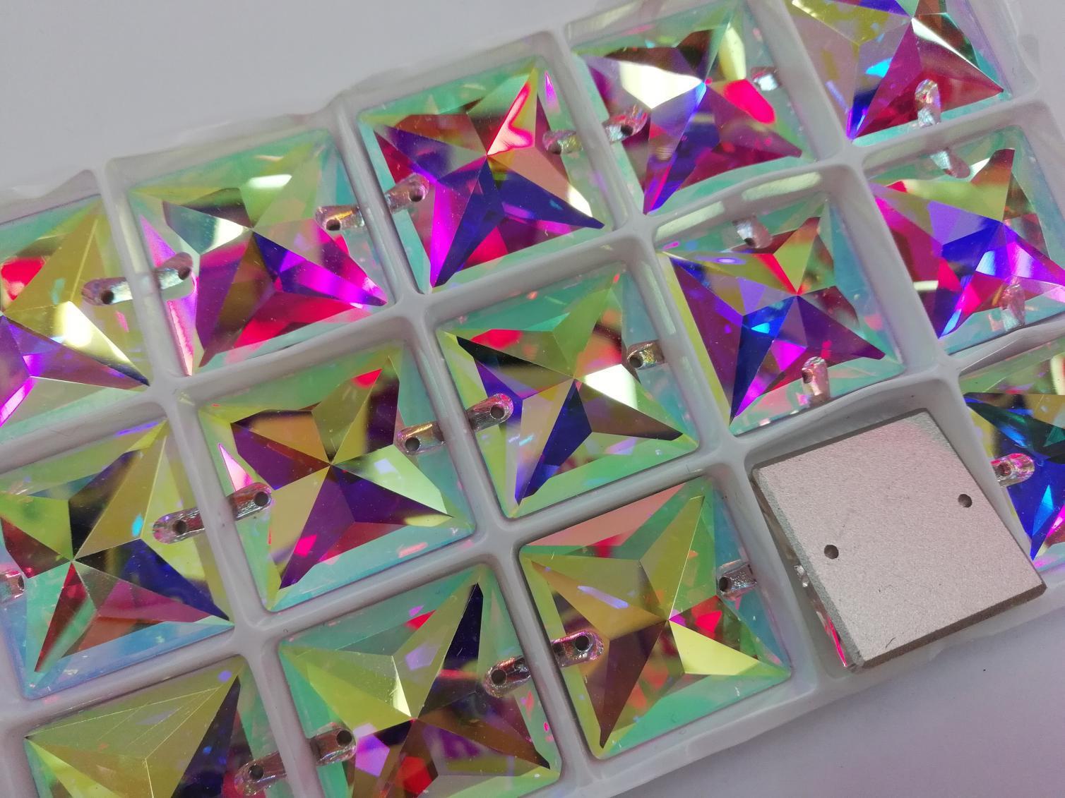Jpstrass-High-quality Jpstrass Flat Back Sew On Crystal Glass Beads Teardrop-4