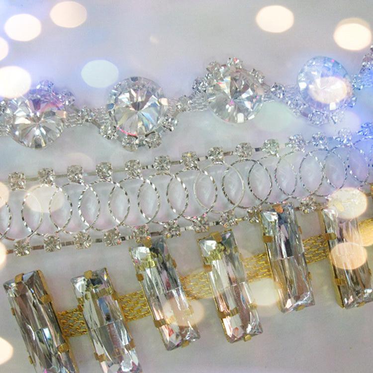 Jpstrass-High-quality Jpstrass Flat Back Sew On Crystal Glass Beads Teardrop-6