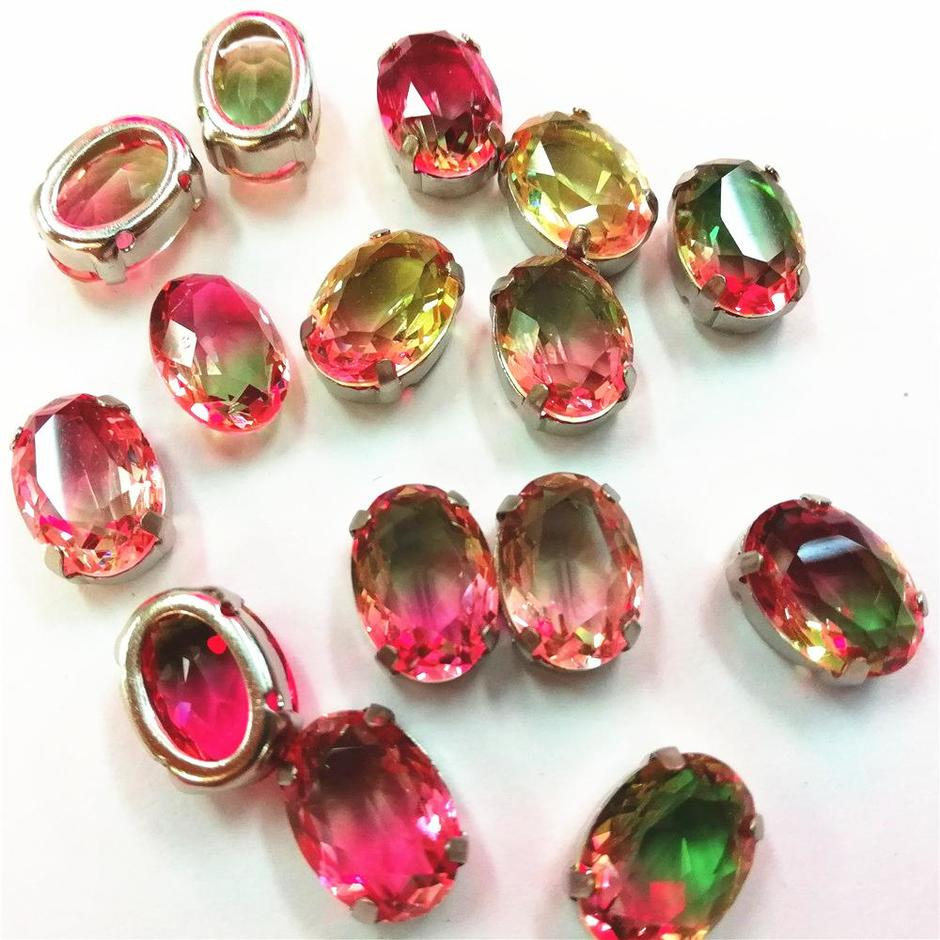JP rhinestones glass crystal with the clawsfor the clothing decoration