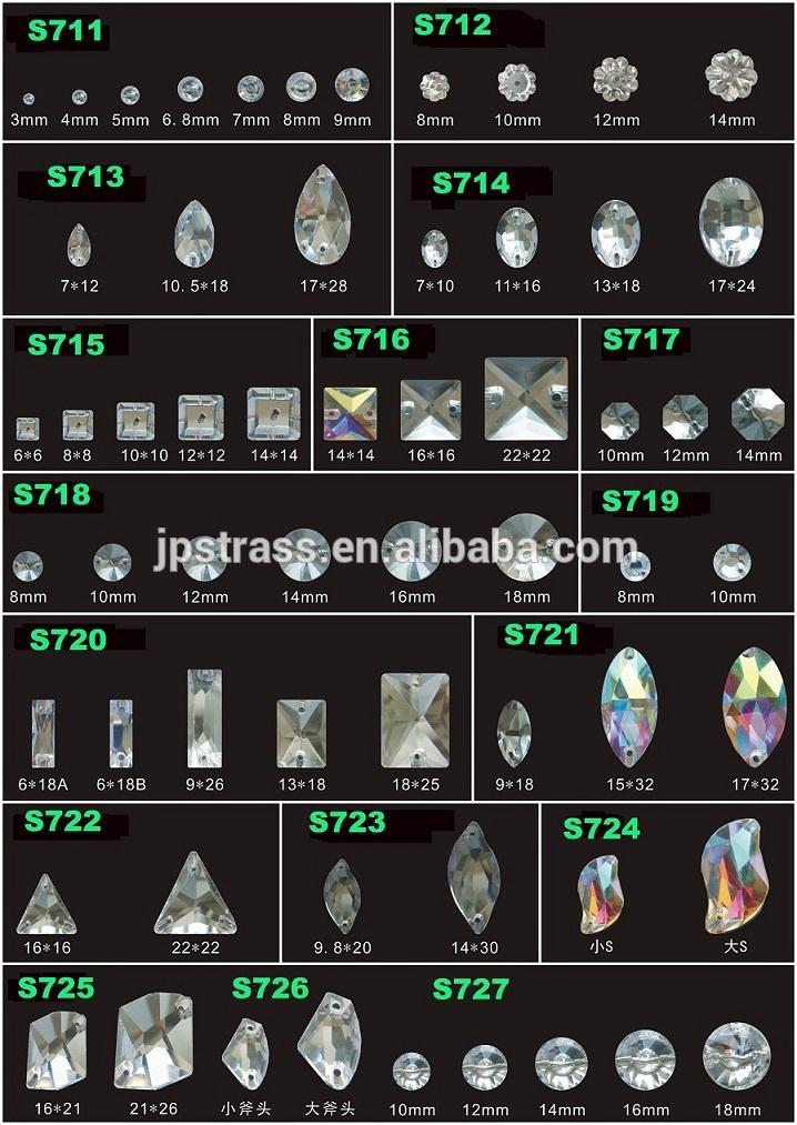 Jpstrass-Professional Affordable Rhinestone Jewelry Glass Rhinestones