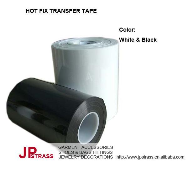 Balider brand hot fix transfer tape 24cm 26cm 28cm 30cm 32cm 36cm 40cm 50cm 100 meters each roll professional supplier
