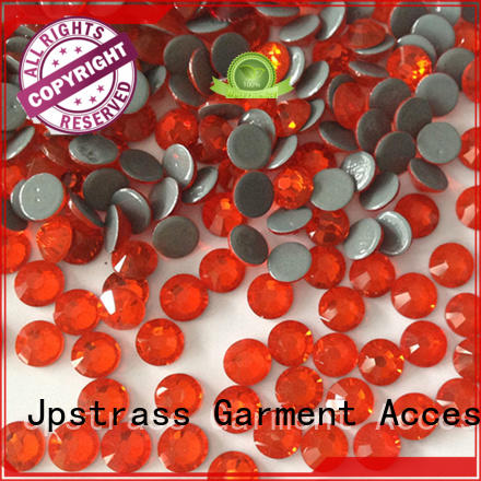Jpstrass flat cheap rhinestones manufacturer for bags