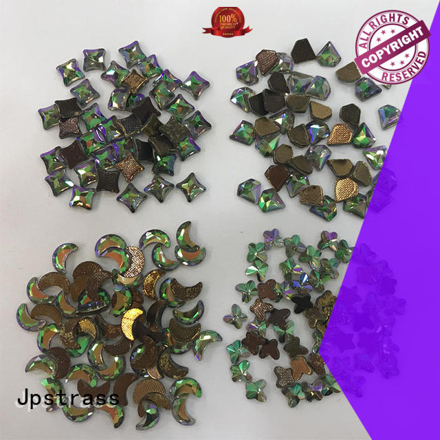 Jpstrass lead rhinestone shapes series for clothes