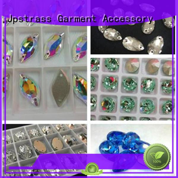 Jpstrass dress sew on jewels for dresses manufacturer for sale