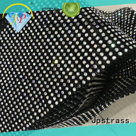 Jpstrass colorful diamond mesh wrap roll sparkle rhinestone rhinestone for ballroom