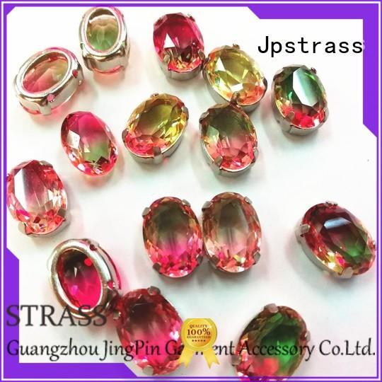 Jpstrass korean swarovski crystals flat back facets for ballroom