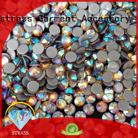 Jpstrass fashionable hot fix rhinestones wholesale clothing for party