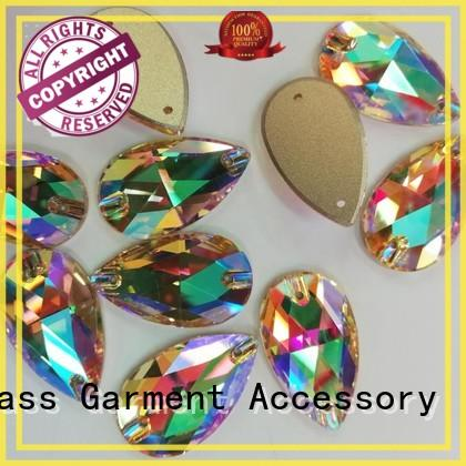Jpstrass shapes glass rhinestones factory price for party
