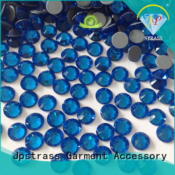 Jpstrass bulk buy hot fix rhinestone factory for clothes