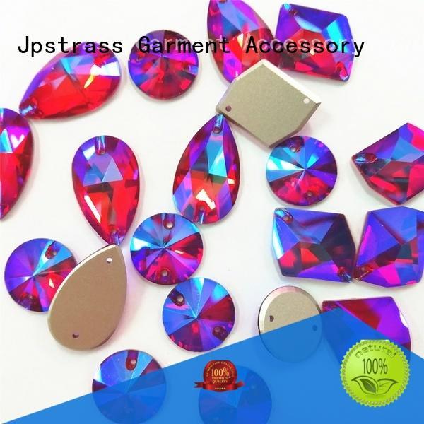 Jpstrass korean flat back rhinestones bulk facets for dress