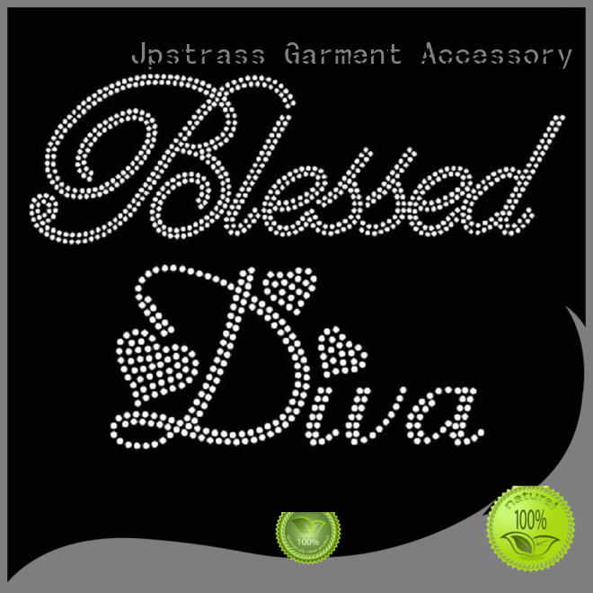 bulk hot fix rhinestone transfers prayer customization for ballroom