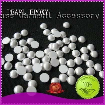 Jpstrass round pearl rhinestones manufacturer for dress