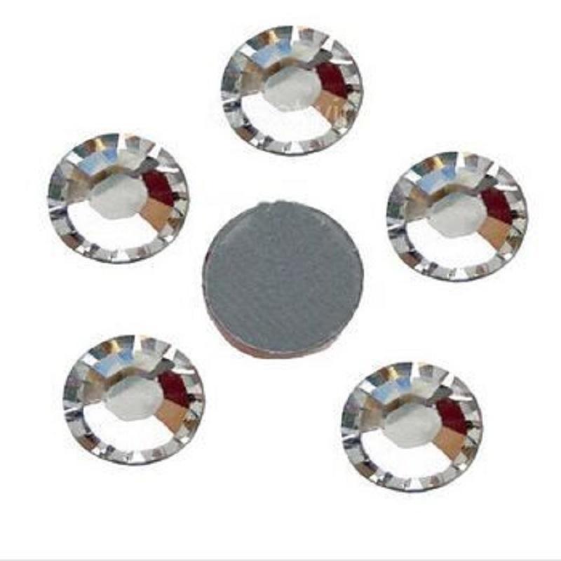 2018 newly shiny crystal clear stones hot fix