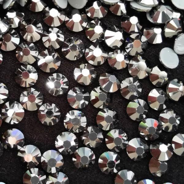 JP STRASS flat back round shape SS4/SS6/SS8/SS10/SS16SS20 hot fix rhinestones multi-colors for wedding dress