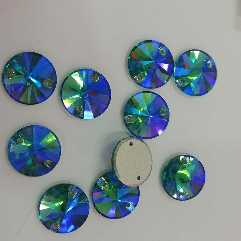 Jpstrass-Best Loose Flat Back Sewing Glass Beads For Jewelry Decoration Glass-1