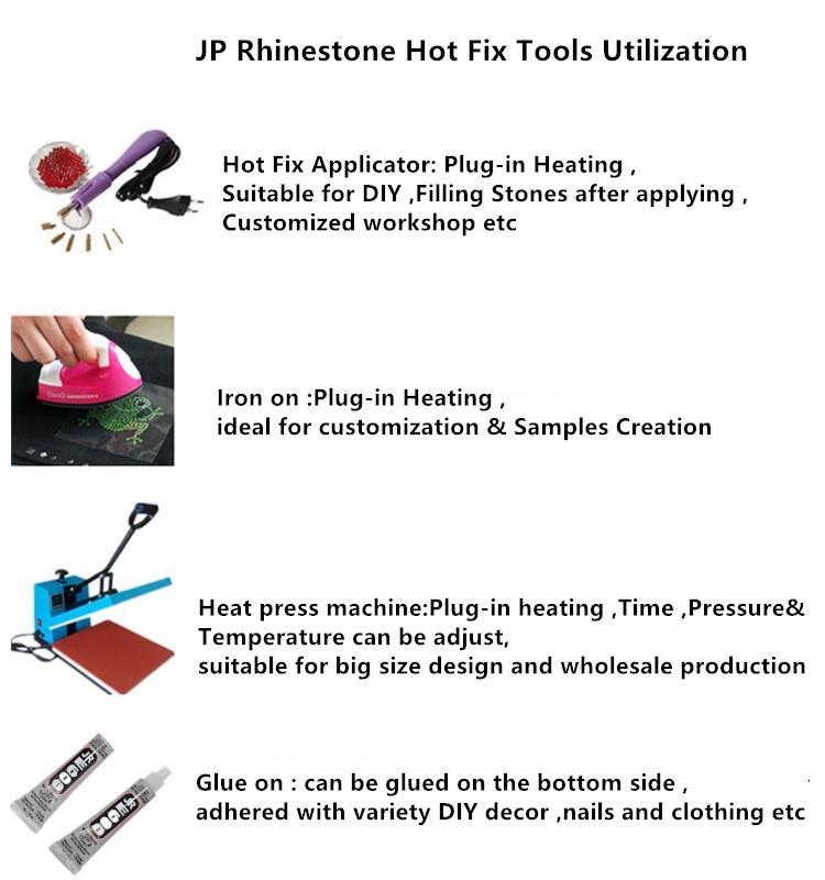 Jpstrass-Faqs | JP Strass Hot fix application
