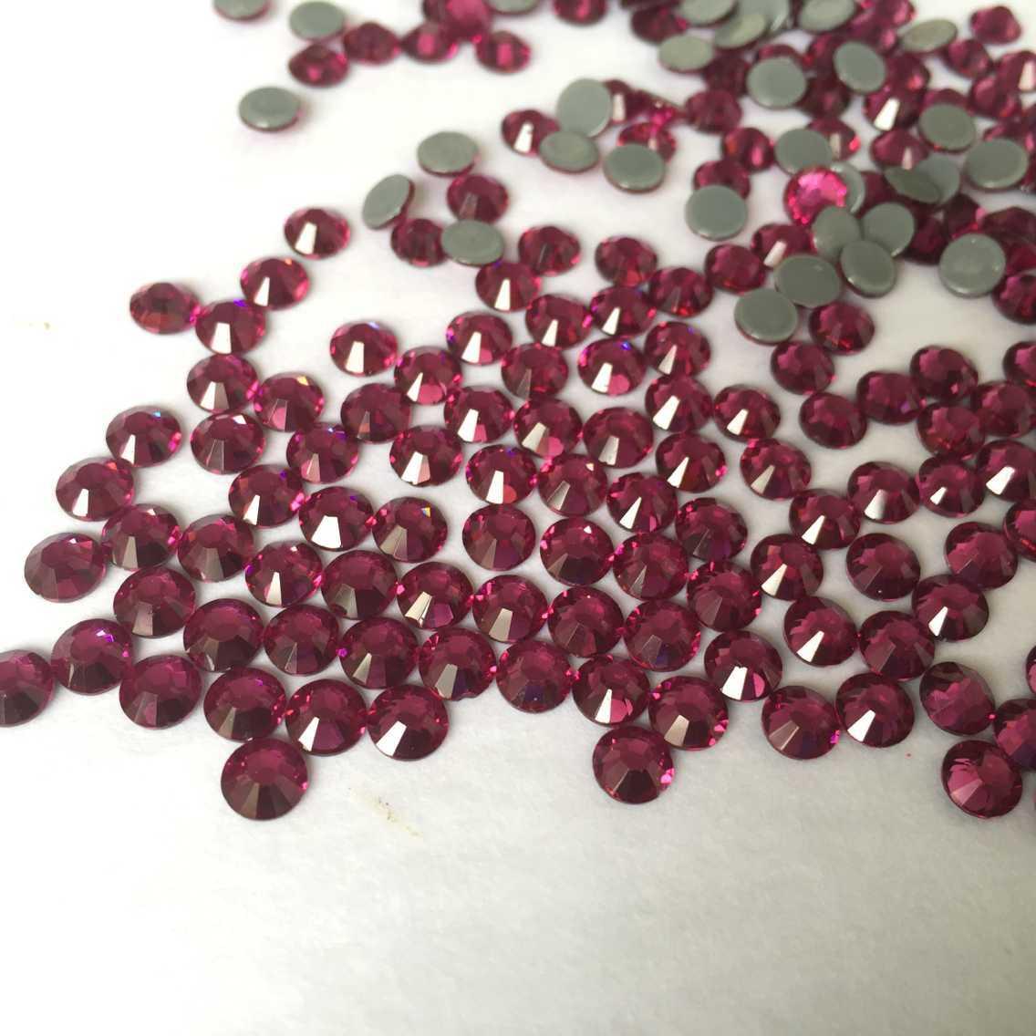 JP rhinestones ss16 ab effect high quality Australia hot fix rhinestones for clothing