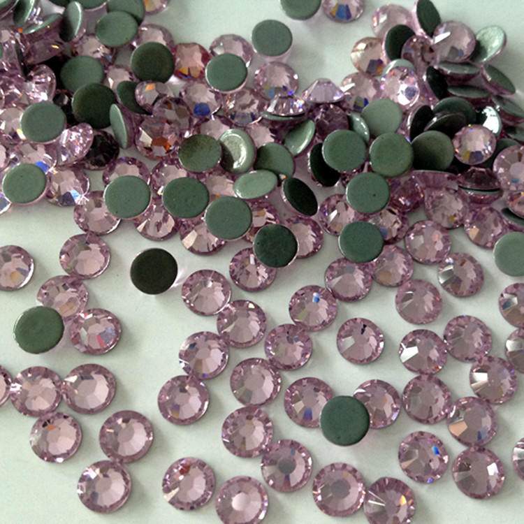JP STRASS flat back hot fix strong shiny more than 14 cutting facet hot fix rhinestones