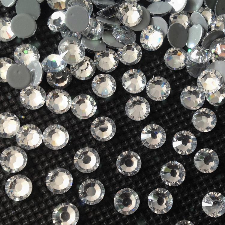 shiny Korean lead free hot fix rhinestone wholesale supplier good shiny