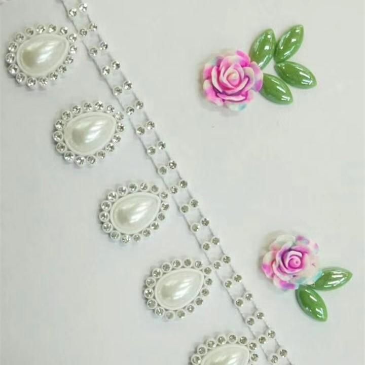 JP STRASS various of style high quality cheap sew on rhinestones plastic chain trimming