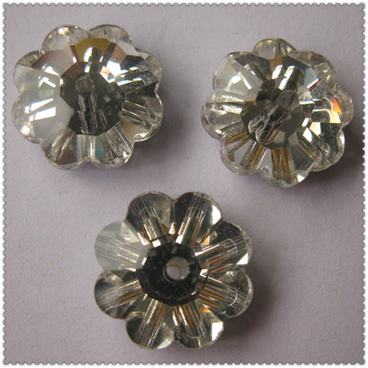 JP STRASS sew on glass flat back rhinestones beads for the girl's dress