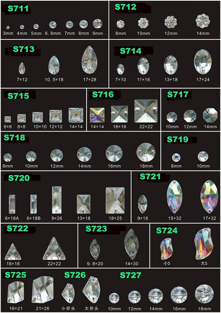 Jpstrass-Jp Strass Sew On Glass Flat Back Rhinestones Beads-2