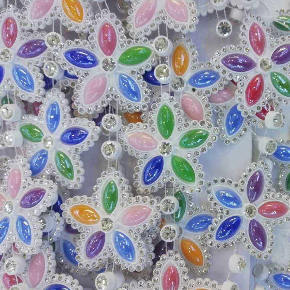 Jpstrass-Best Jp Strass Plastic Rhinestones Mesh For The Wedding Dress
