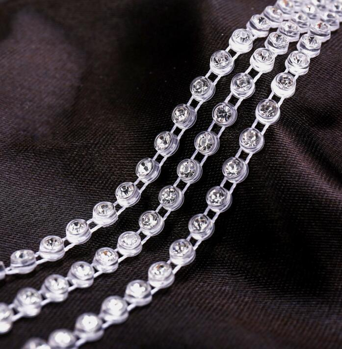 Jpstrass-Manufacturer Of Rhinestone Wrap Factory Directly Sale Elastic Banding Rhinestone-2