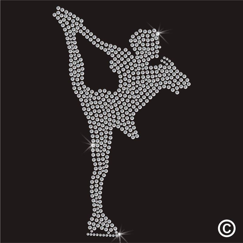 rhinestone transfer logos design customized factory directly sale supplier