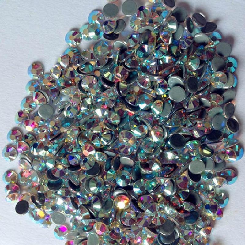 Swarovski shiny crystal hot fix rhinestones supplier
