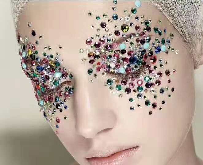 Jpstrass-Extremely Shiny Rhinestone Korean Glue Ab With Facets Wholesale