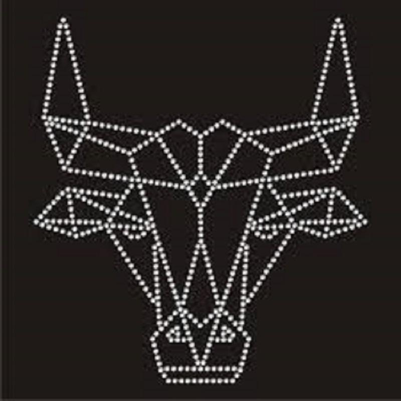 Gymnastics transfer hot fix rhinestone design for t-shirts wholesale supplier