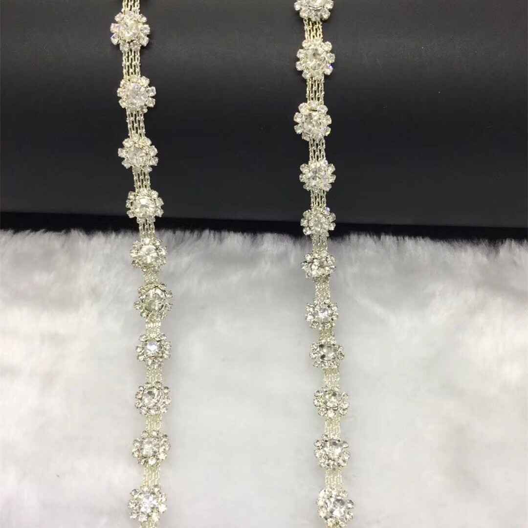 Jpstrass-The Most Shiny Attractive Pearls Plastic Rhinestone Trimming Wholesale-4
