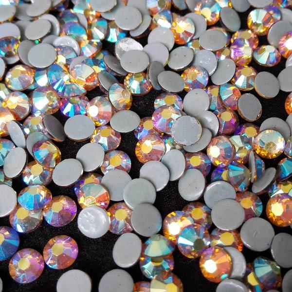 Korean 6A Shiny Lead Free Hot Fix Rhinestone Superb Quality For Clothing Denim Decorations
