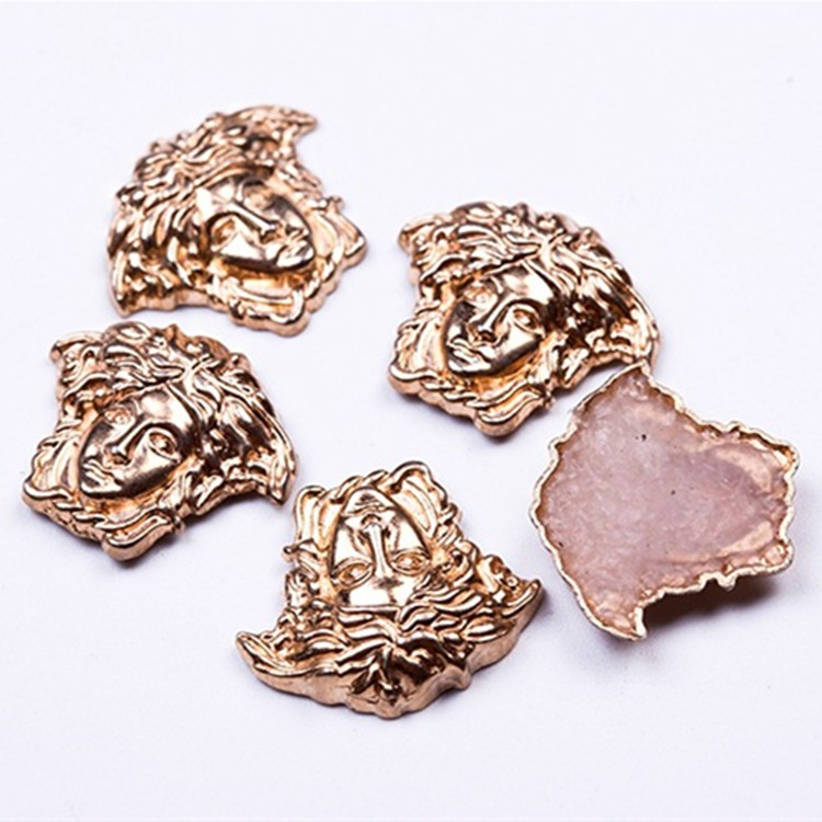 product-hot fix Medusa studs iron on alloy studs for clothing decoration-Jpstrass-img
