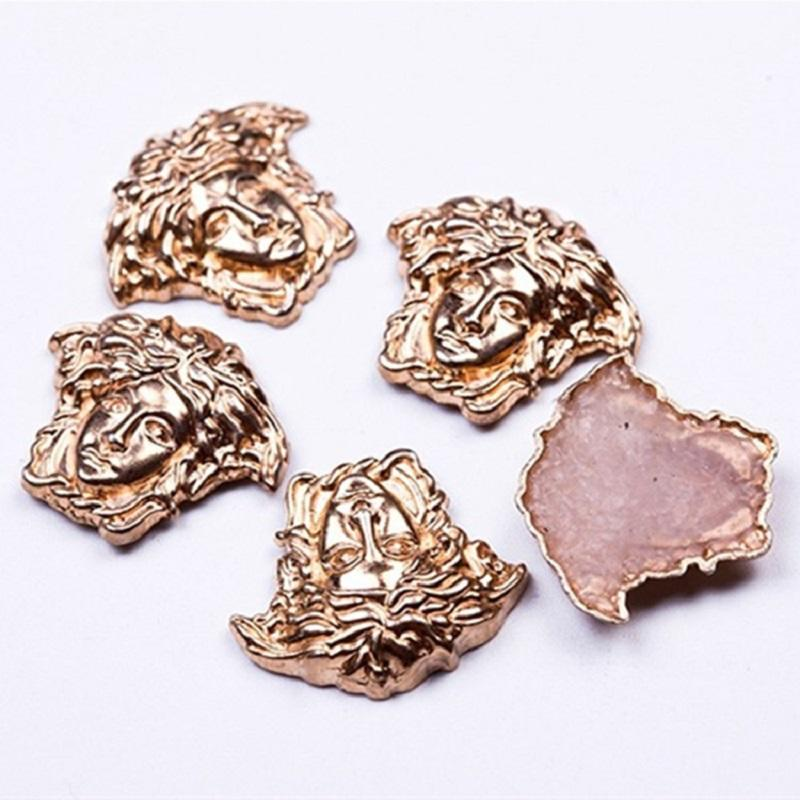 15mm New Arrival Medusa Hotfix Studs Alloy For Shoes Decoration