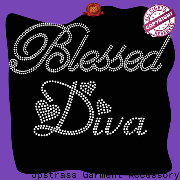 Jpstrass professional wholesale rhinestone transfers supplier for party