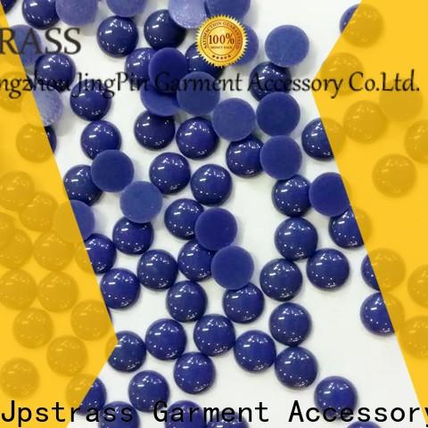 flat crystal beads flat back garment manufacturer for party